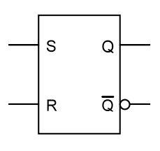 RS Flipflop Schaltzeichen