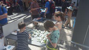 Kinder auf der MF Berlin